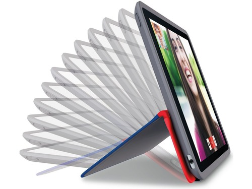 Logitech Any Angle iPad Cover - BLUE & RED - 939-001141