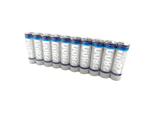 WHITENERGY AKUMULATORY AA 2800 mAh 10szt - 06779