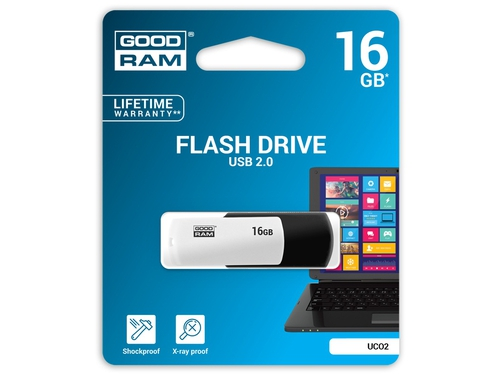 Pendrive GoodRam 16GB USB 2.0 UCO2-0160KWR11