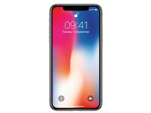 Smartfon Apple iPhone X 64GB Space Gray GPS WiFi NFC LTE Bluetooth 64GB iOS 11 Space Gray