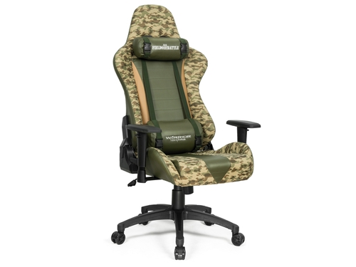 Fotel gamingowy WARRIOR CHAIRS Fields of Battle DESERT CAMOUFLAGE