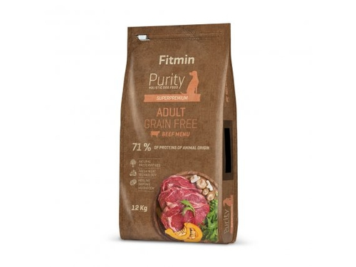 Fitmin Purity dog GF Adult Beef 12 kg