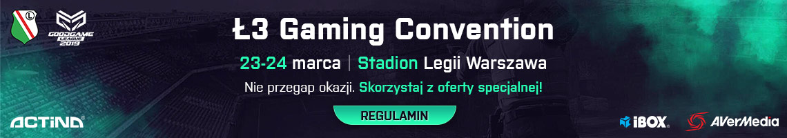 Regulamin Ł3 Gaming Convention