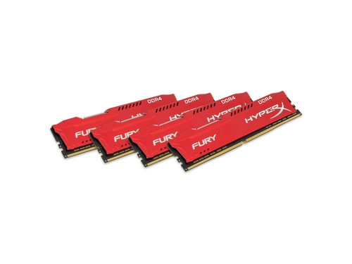 KINGSTON HyperX FURY DDR4 4x8GB 2933MHz HX429C17FR2K4/32