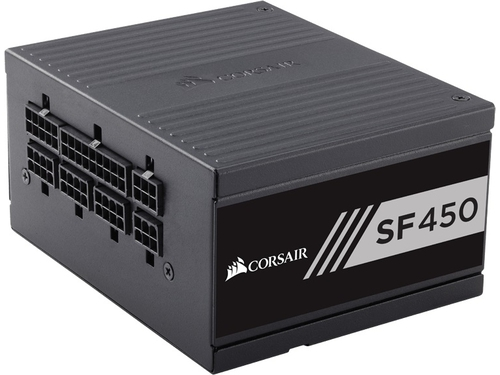 Corsair zasilacz SF Series450-450 Wat 80 PLUS Gold Certified High PerformanceSFX - CP-9020104-EU