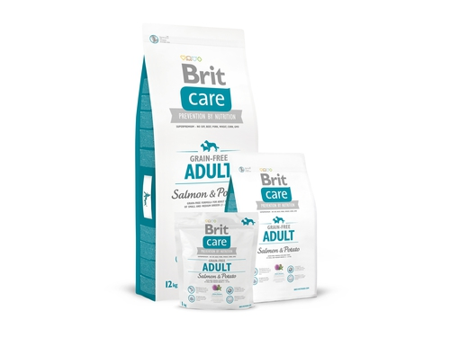Brit Care Grain-free Adult Salmon & Potato12