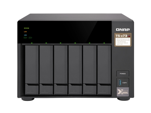 Qnap-TS-673-4G tower AMD 4GB RAM