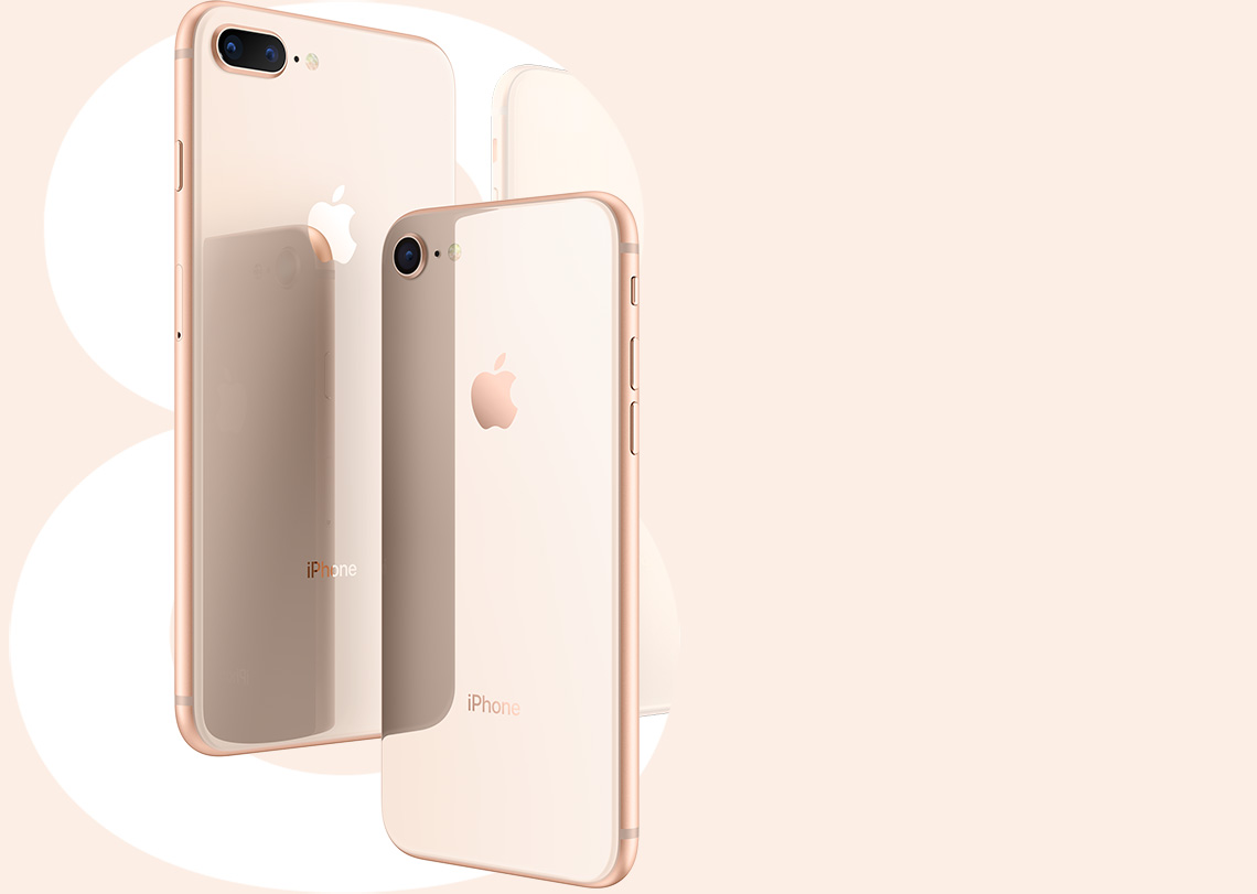 Apple iPhone 8 Plus 64GB Gold (REMADE) 2Y 1