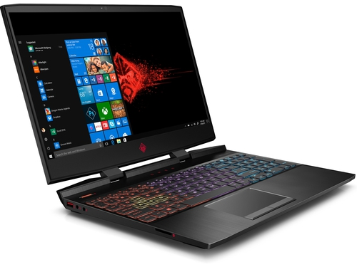 "HP OMEN 15-dc1052nw i7-9750H 15,6""MattFHD 144Hz IPS 16GB DDR4 SSD512 RTX 2060_6GB RGB TB Win10 7QA24EA 2Y Shadow Black"