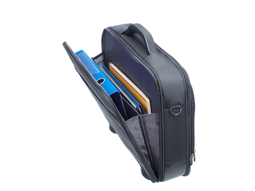 "SAMSONITE TORBA KOMPUTEROWA 39V08002 VECTURA-OFFICE CASE PLUS 16"" 3 KIESZENIE: NA NOTEBOOK, TABLET I DOKUMENTY, KIESZEŃ Z PRZ"