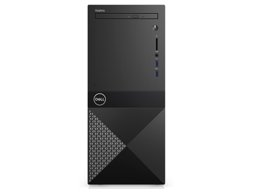 Komputer stacjonarny Dell Vostro 3670 MT N205VD3670BTPCEE01_1905 Core i3-8100 Intel UHD 630 8GB DDR4 DIMM HDD 1TB SSD 128GB Win10Pro