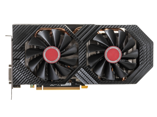 Karta graficzna XFX Radeon RX 590 RX 590 RX-590P8DFD6 AMD Virtual Super Resolution AMD XConnect Technologia AMD LiquidVR Radeon Chill DirectX 12 8GB DDR5 8000 MHz 256-bit