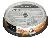 DVD-R Sony 4,7GB 10szt.