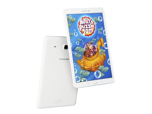 "Tablet Samsung Galaxy Tab E SM-T560NZWAXEO 9,6"" 8GB Bluetooth GPS WiFi biały"