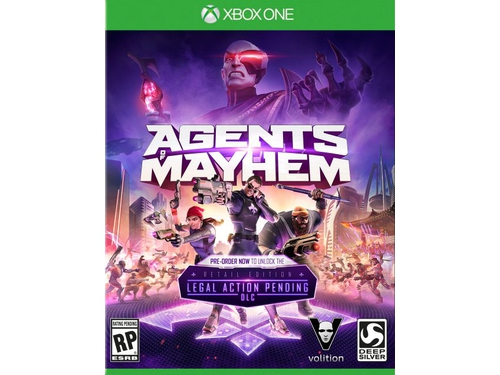 Gra Xbox One Agents of Mayhem