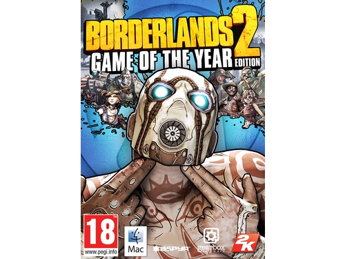 Gra Mac OSX PC Borderlands 2 - Game of the Year Edition MAC - M53174