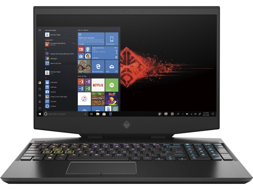 "HP OMEN 15-dh0002nw i7-9750H 15,6""MattFHD 240Hz IPS 32GB DDR4 SSD512+32xPoint RTX 2080_8GB MaxQ Gsync RGB Win10 8AM35EA 2Y Shadow Black"