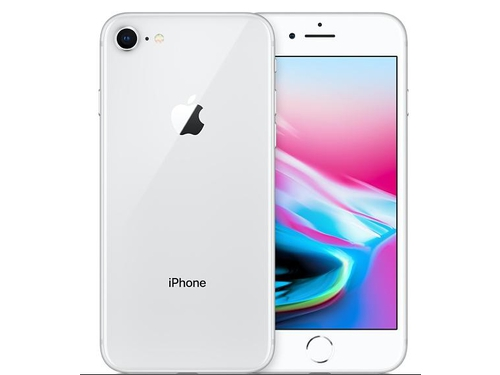 Smartfon Apple iPhone 8 64GB Silver MQ6H2SE/A Bluetooth LTE GPS WiFi 64GB iOS 11 kolor srebrny